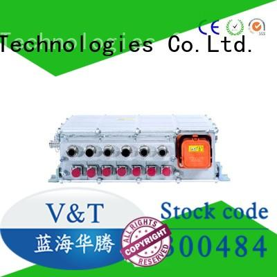 V&T Technologies pdu integrated 90v dc motor controller manufacturer for industry equipment