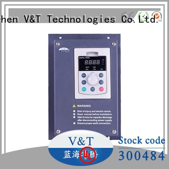 V&T Technologies buy low frequency inverter control technology for overseas