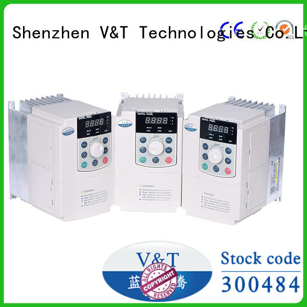 V&T Technologies high quality E5 series high-performance universal Inverter factory-made in China for vector control