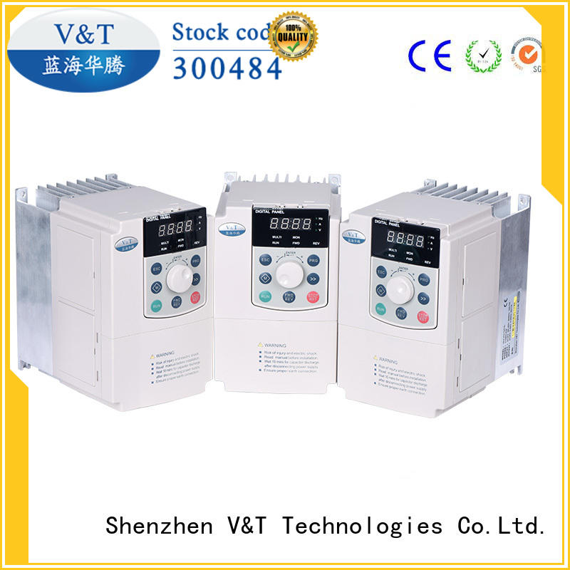 V&T Technologies big power E5 series high-performance universal Inverter factory-made in China for vector control