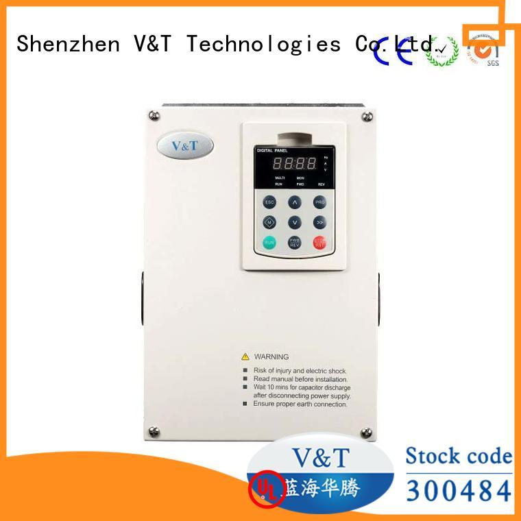 V&T Technologies reliability vsd variable speed drive inverter for machines