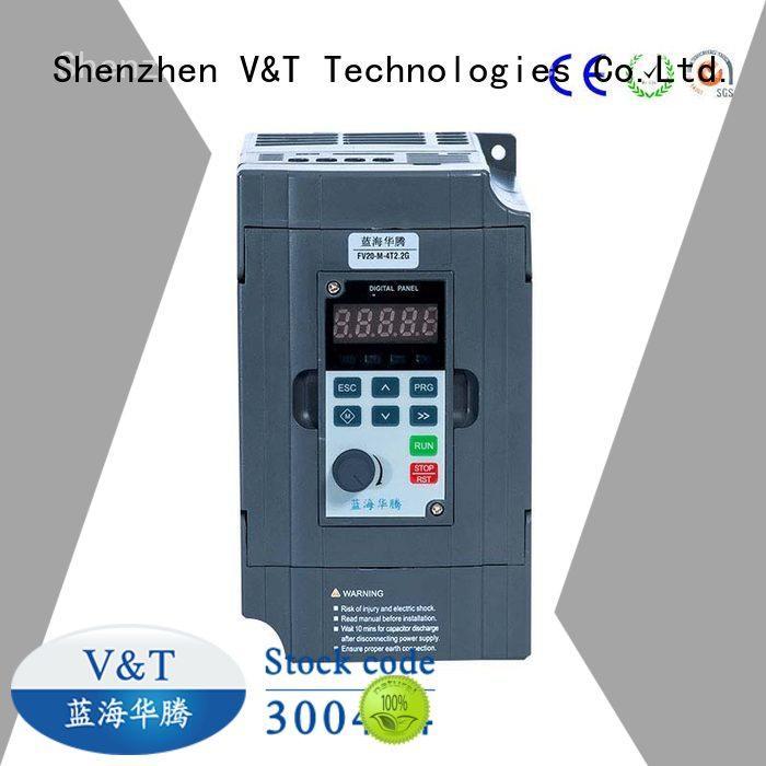 V&T Technologies full functions FV20 series inverter solutions for low power
