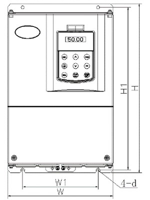 new arrival vfd for 3 phase motor water manufacturer for light−duty application-5