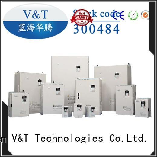 V&T Technologies sturdy construction V6 series inverter exporter for transmission