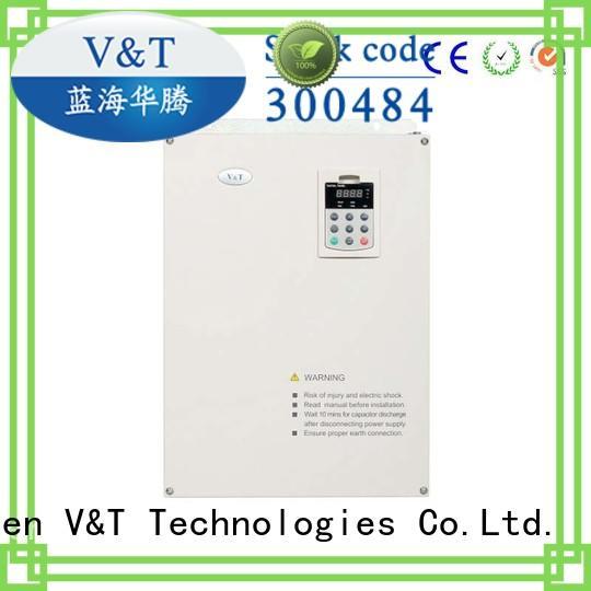 V&T Technologies intelligent low voltage vfd inverter for machine