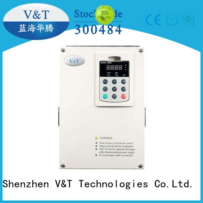 V&T Technologies frequency how does a variable speed drive work for hoist for machines