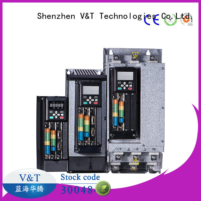 V&T Technologies brand new VTS general purpose inverter / servo drive for trader