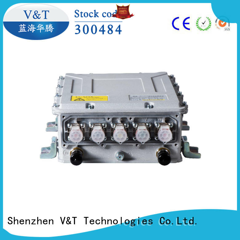 V&T Technologies pdu integrated electric car motor controller for motor type for pump vehicle