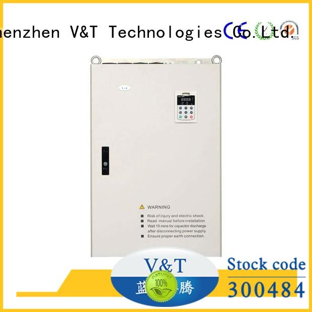 V&T Technologies new generation E5 series high-performance universal Inverter supplier for industry
