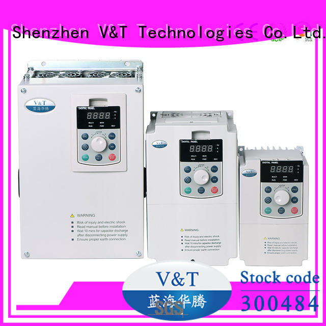 vector control inverter for commercial uses