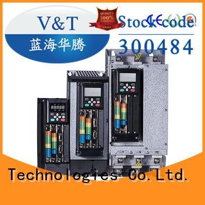 V&T Technologies brand new VTS general purpose inverter / servo drive producer for trader