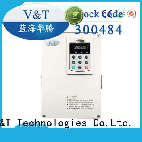 V&T Technologies drive voltage frequency drive for hoist for machines