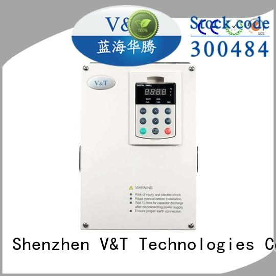 V&T Technologies stone 10 hp variable frequency drive from China for crane