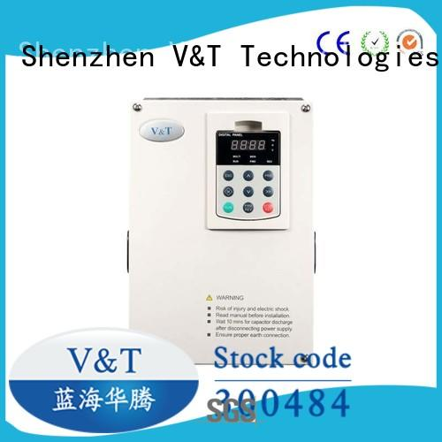 V&T Technologies new arrival vfd for 3 phase motor factory for heavy−duty application