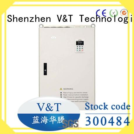 V&T Technologies high quality E5 series high-performance universal Inverter supplier for industry