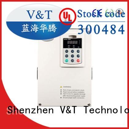 V&T Technologies new arrival vfd for 3 phase motor manufacturer for light−duty application