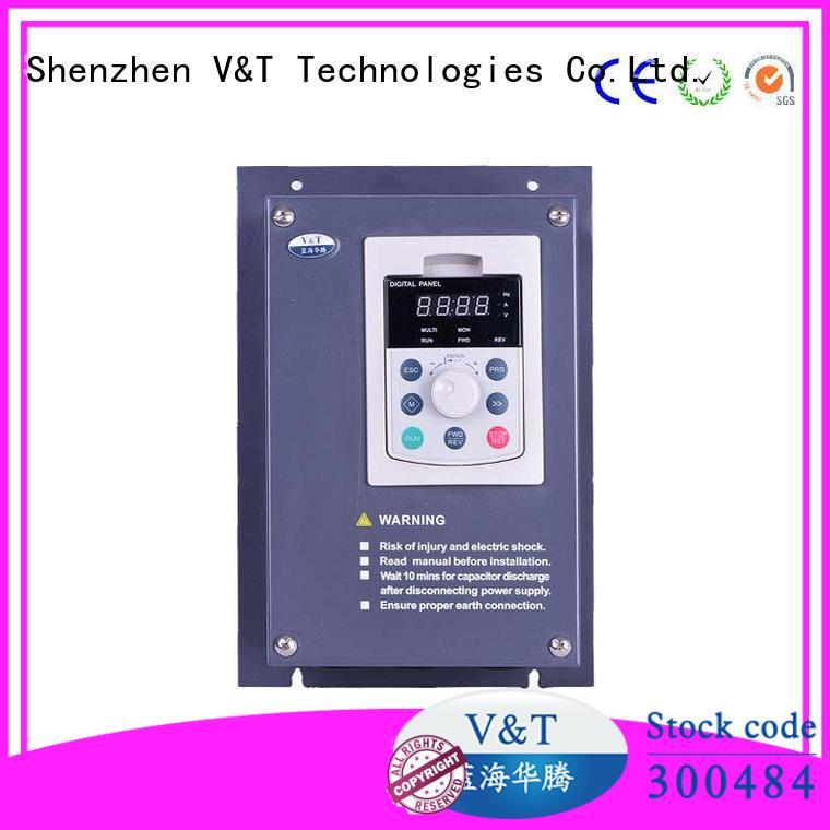 V&T Technologies textile inverter how does a variable frequency drive work shenzhen for machinery
