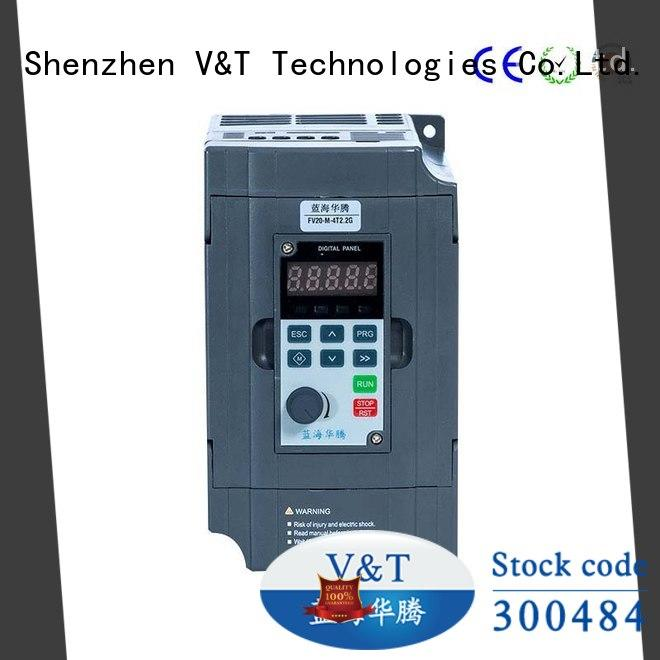 V&T Technologies compact size FV20 series inverter supplier for industry