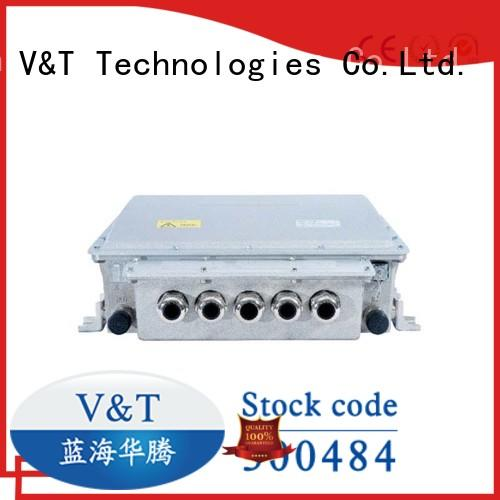 superior electric bus motor controller supplier for pump vehicle V&T Technologies