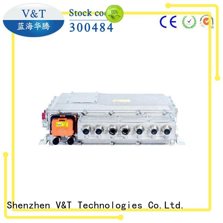 V&T Technologies customized electric bus motor controller 3in1 for vehicle type