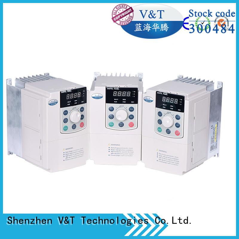 V&T Technologies E5 series high-performance universal Inverter supplier for machinery