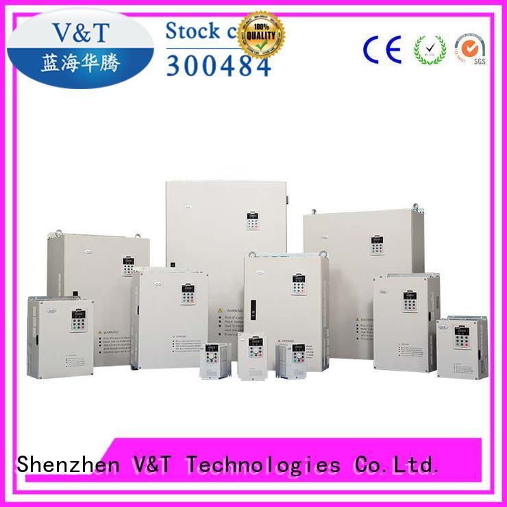 high performance V6 series inverter exporter for transmission V&T Technologies