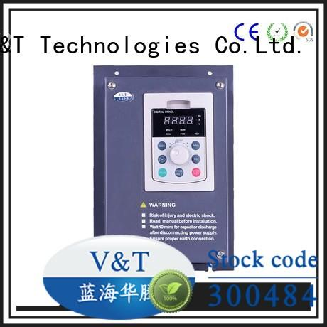 how does a variable frequency drive work spinning machine V&T Technologies