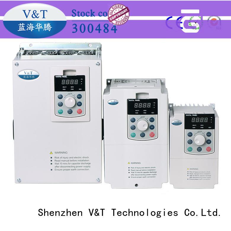 V&T Technologies brand new V5 series inverter for transmission