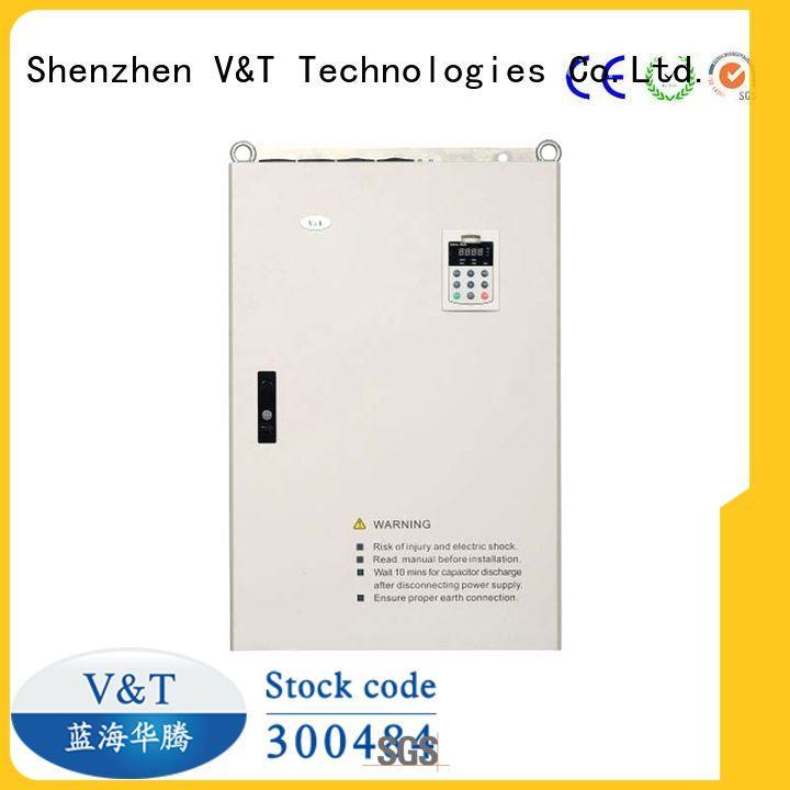 V&T Technologies new generation E5 series high-performance universal Inverter supplier for industry
