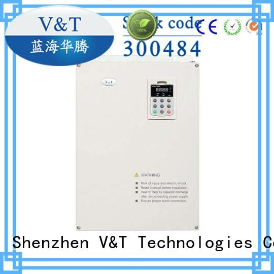 V&T Technologies intelligent types of ac drives sample provide for tension control