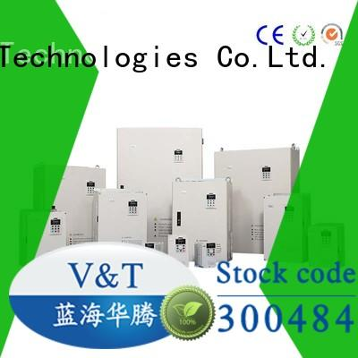 V&T Technologies high performance V6 series inverter exporter for transmission