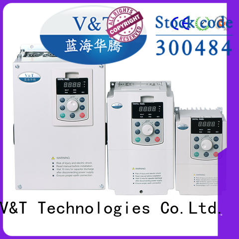 V&T Technologies vector control inverter OEM ODM for commercial uses