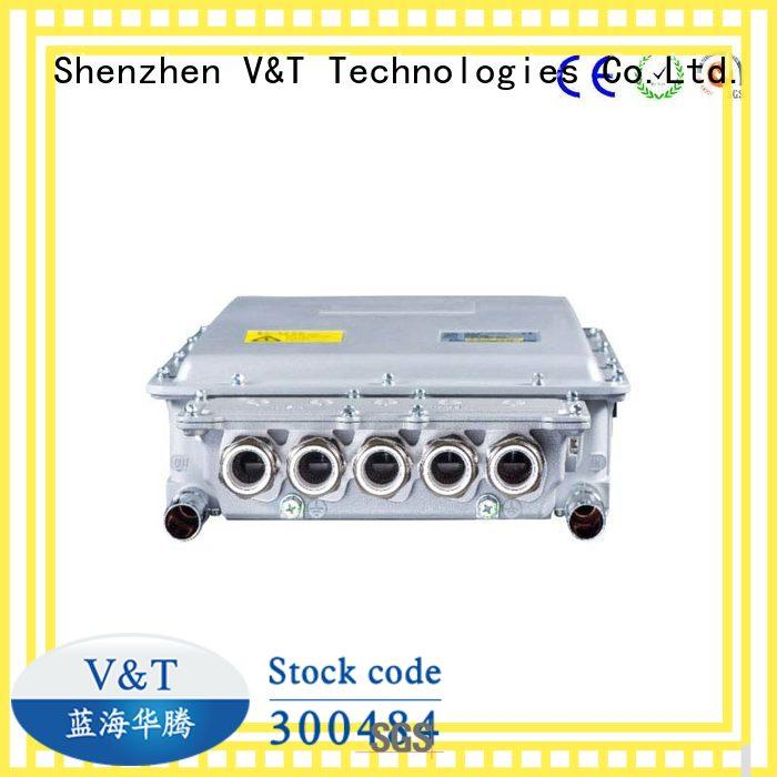 V&T Technologies vehicle tank motor controller for electric vehicle manufacturer for industry equipment