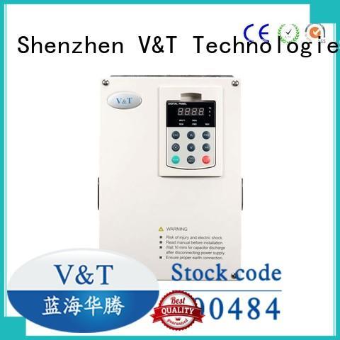 V&T Technologies variable vfd for 3 phase motor series for heavy−duty application