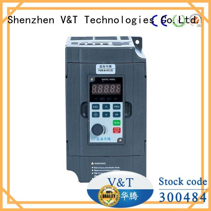 compact size FV20 series inverter factory for limited mounting space V&T Technologies