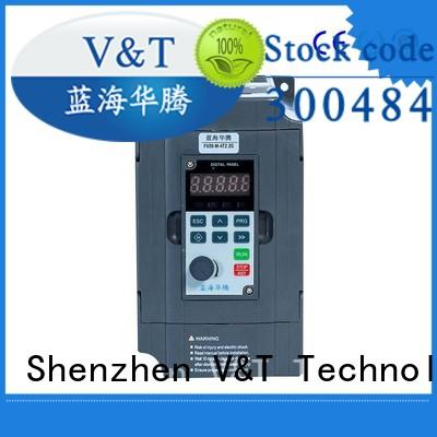 V&T Technologies fast shipping FV20 series inverter solutions for limited mounting space
