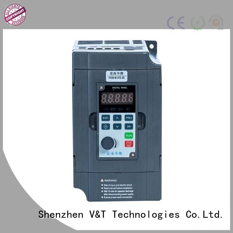 V&T Technologies FV20 series inverter solutions for low power