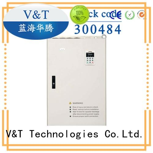 V&T Technologies new generation inverter cabinet 75kw-3000kw for vector control