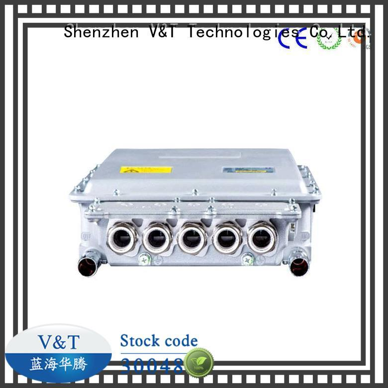 special electric car controller aircooling motor manufacturer for industry equipment