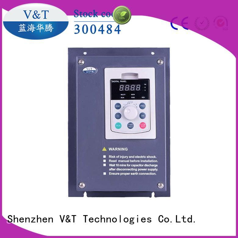 best vfd drives design for machinery V&T Technologies