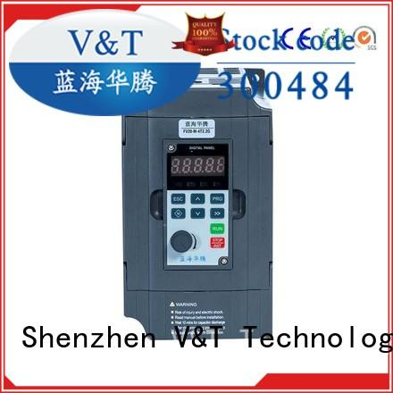V&T Technologies compact size FV20 series inverter solutions for industry