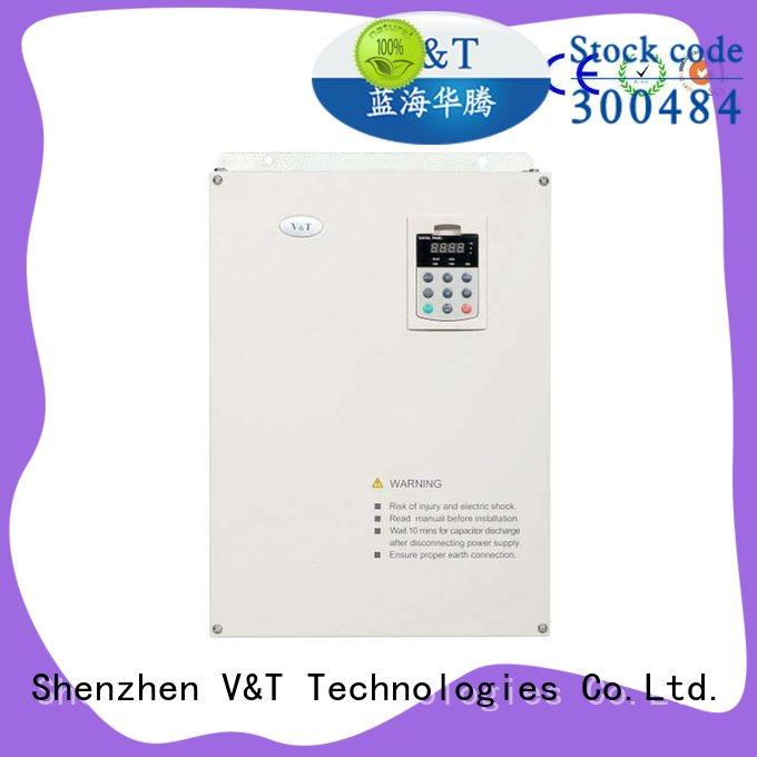 V&T Technologies handle easily types of ac drives sample provide for machine