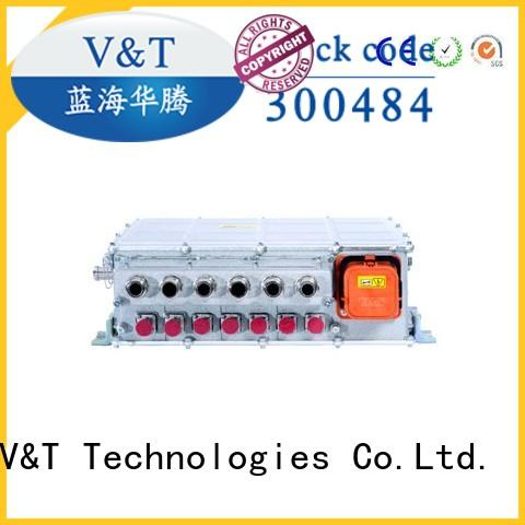 sanitation electric bus motor controller dc dc for industry equipment V&T Technologies