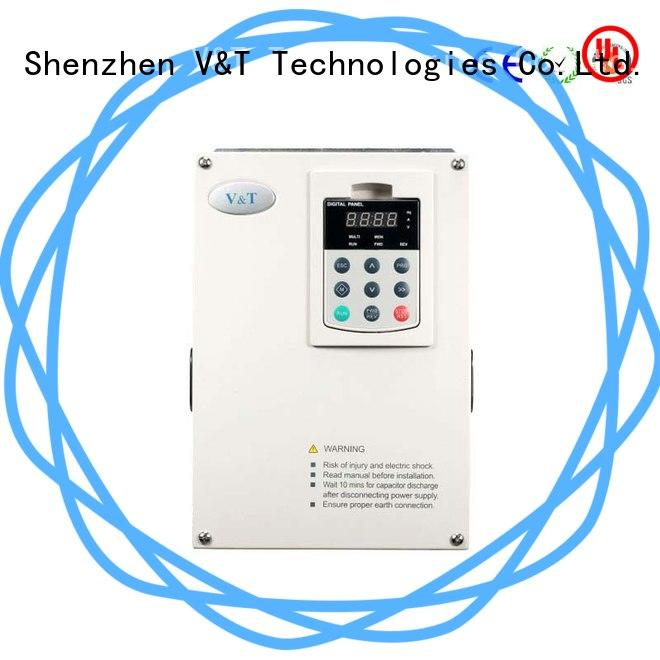 V&T Technologies processing vfd motor control from China for hoist crane