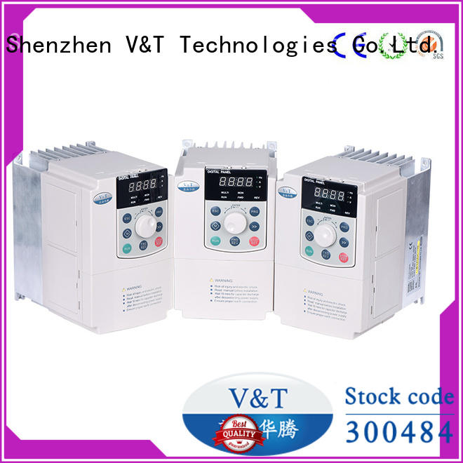 V&T Technologies customized E5 series high-performance universal Inverter supplier for vector control