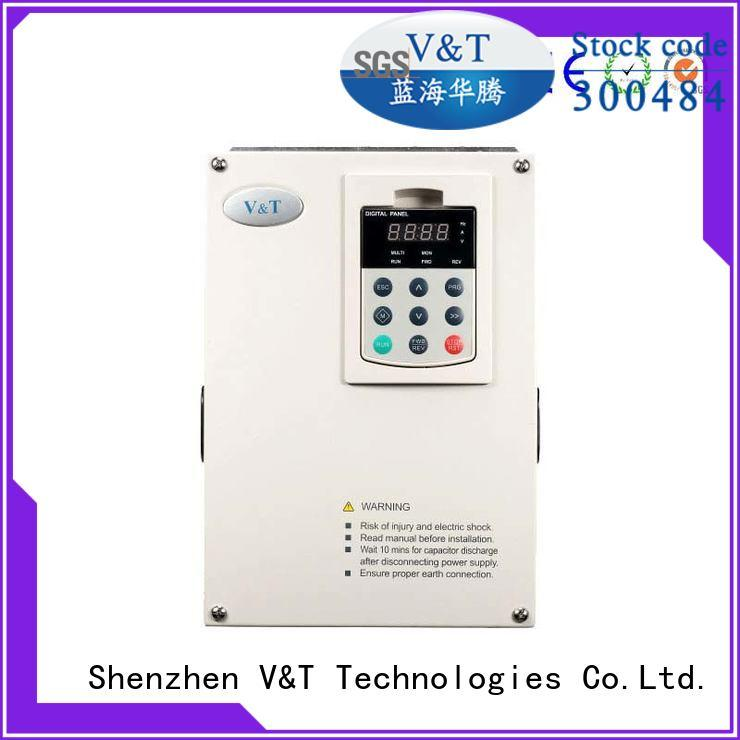 trustworthy variable frequency drive for 3 phase motor cheap for machines V&T Technologies