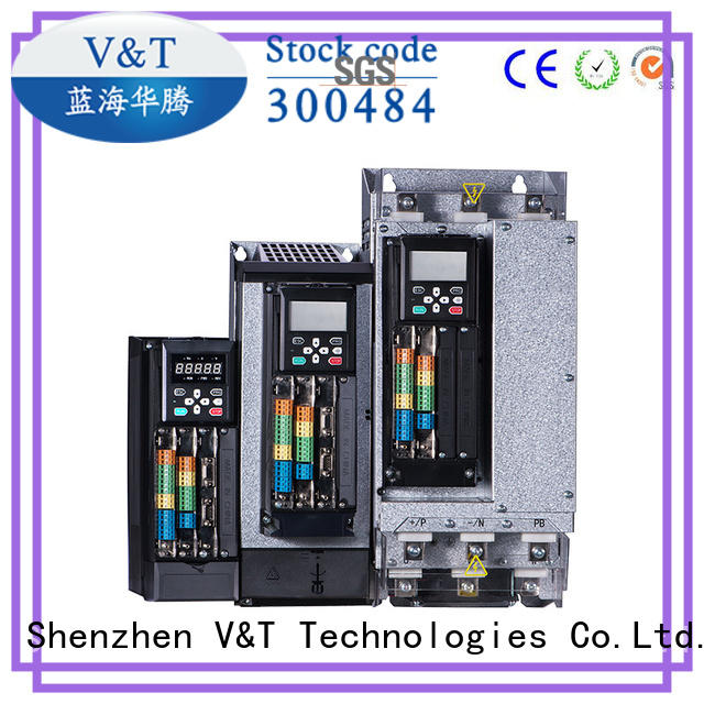 V&T Technologies VTS general purpose inverter / servo drive factory for trader