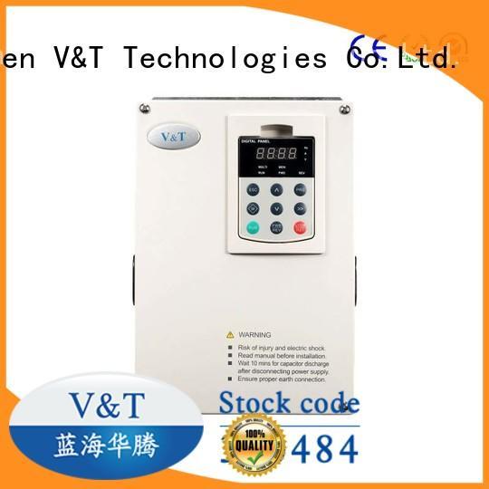 V&T Technologies Safe vsd variable speed drive for hoist for machines