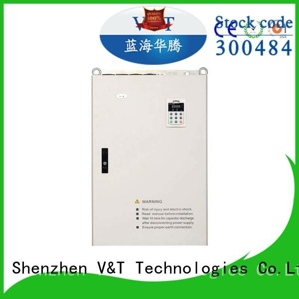 V&T Technologies new generation variable frequency drive uses personalized for machinery