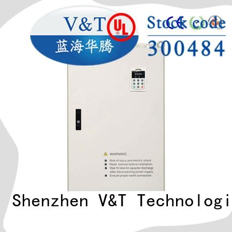 V&T Technologies customized E5 series high-performance universal Inverter supplier for machinery